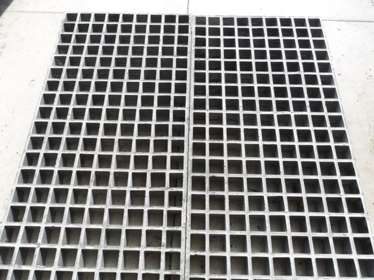 花纹板玻璃钢格栅 防滑盖板 38*38*30