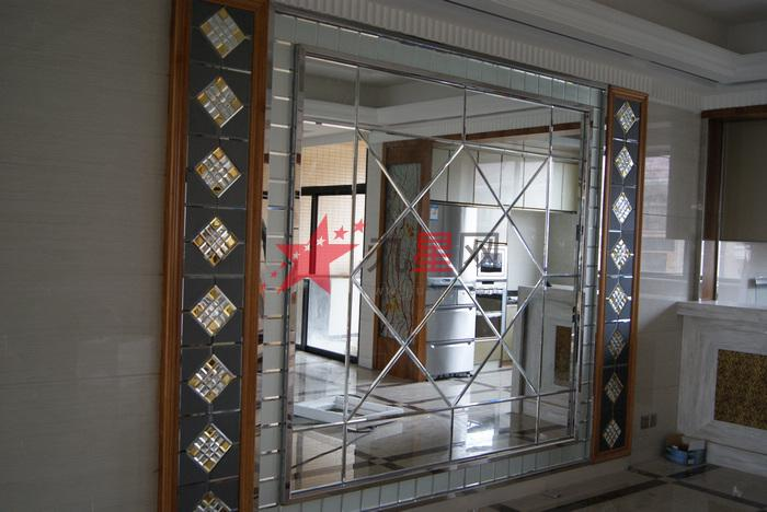 钢化拼接玻璃 正方形镜片
