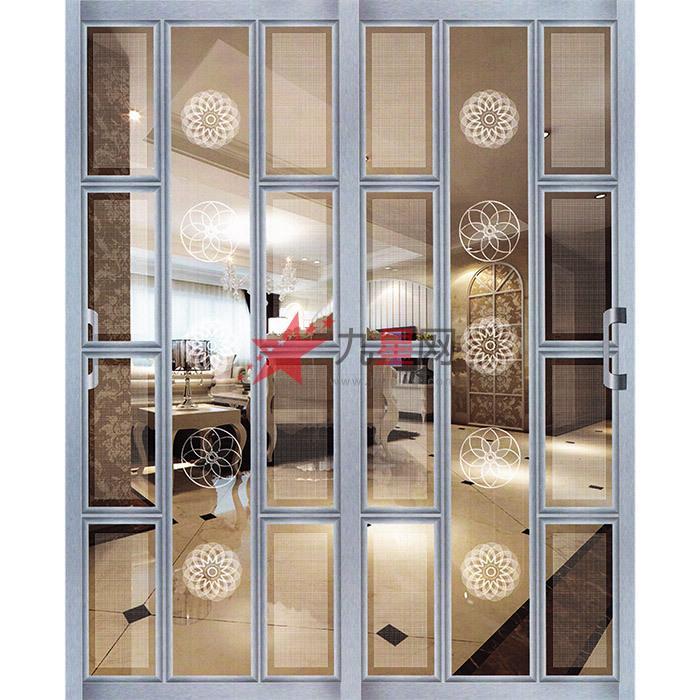 边框和轨道用优质的铝钛合金材料制成,强度高,不变形; 2.