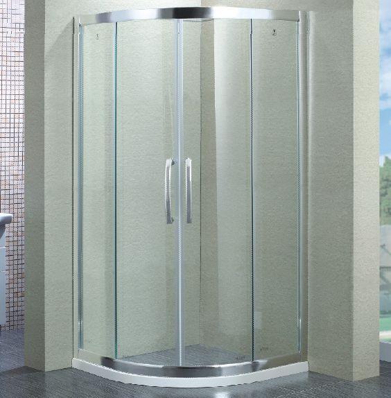沐浴房 半圆/扇形淋浴房 > 广东中山玛莎防爆淋浴房/扇形推拉门/c8202