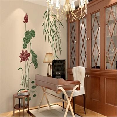 徽彩 硅藻泥 欧式印花 室内客厅餐厅卧室 内墙环保面材 定制图案