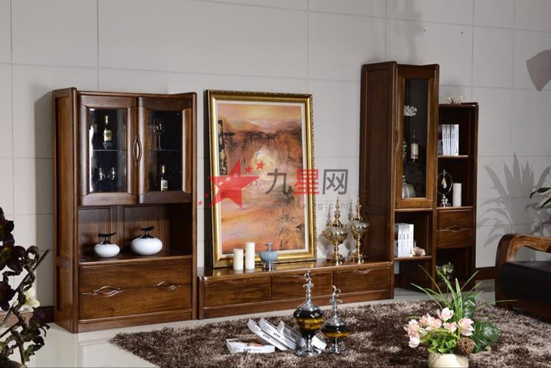 沃得家具 非洲胡桃木系列 电视柜-3