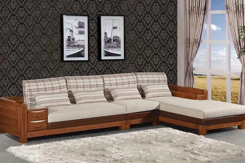 东方枫韵 榆木系列 实木沙发-4