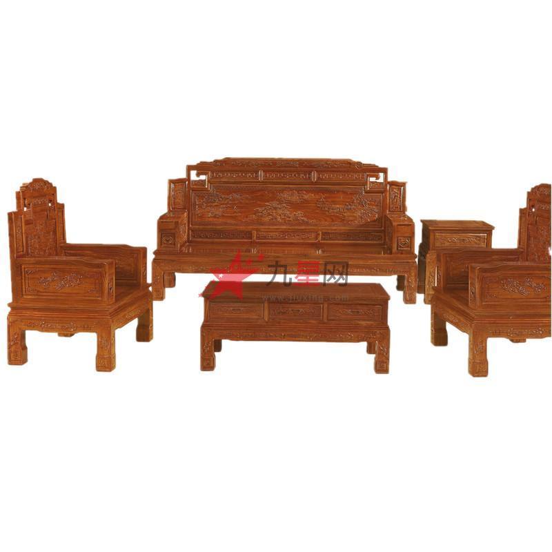 虹艺红木家具 红木沙发系列 hysf-1