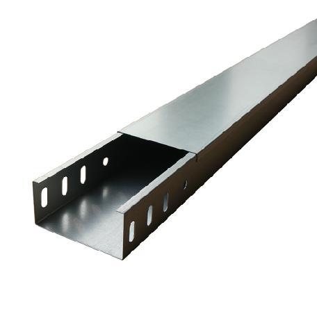 电缆桥架 槽式桥架 全封闭式线槽 镀锌桥架 金属桥架图片