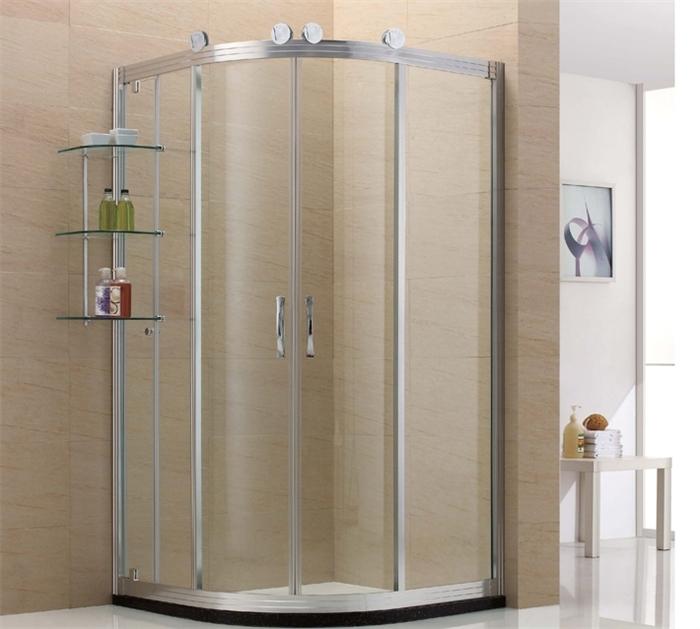 淋浴房系列 半圆形/扇形淋浴房 > 潮典 淋浴房 1551dg 海魅亮银大轮