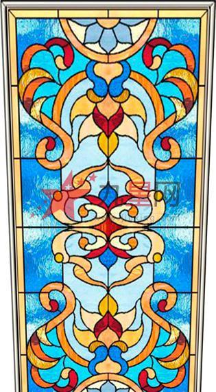 彩色玻璃是属于光就有生命的艺术玻璃