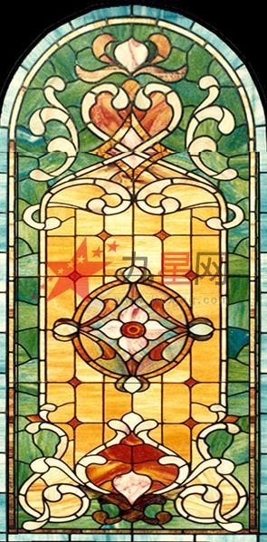 欧式背景 > 艺术玻璃