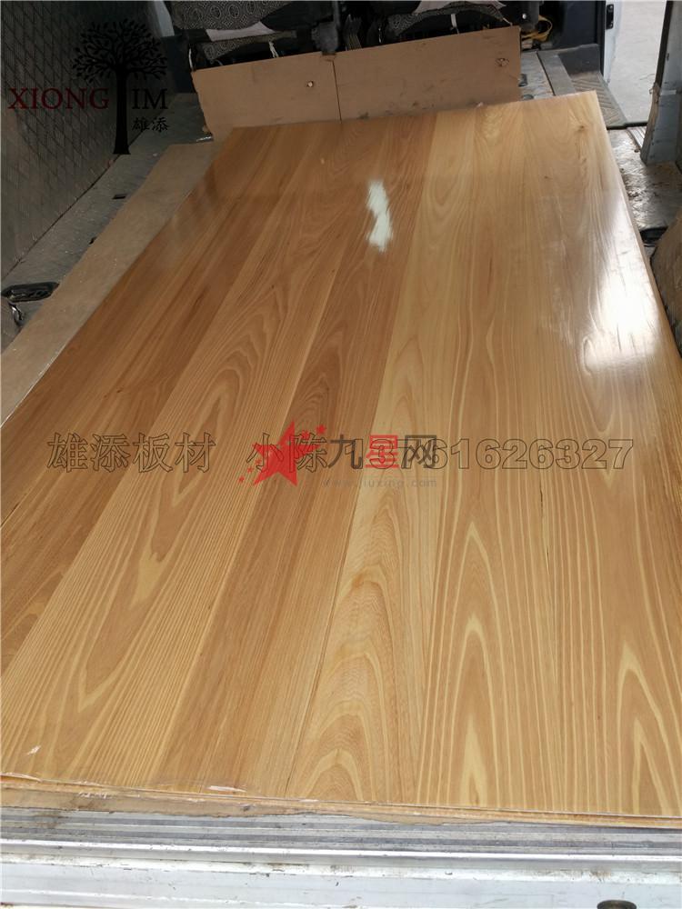 榆木免漆木饰面板 榆木饰面板