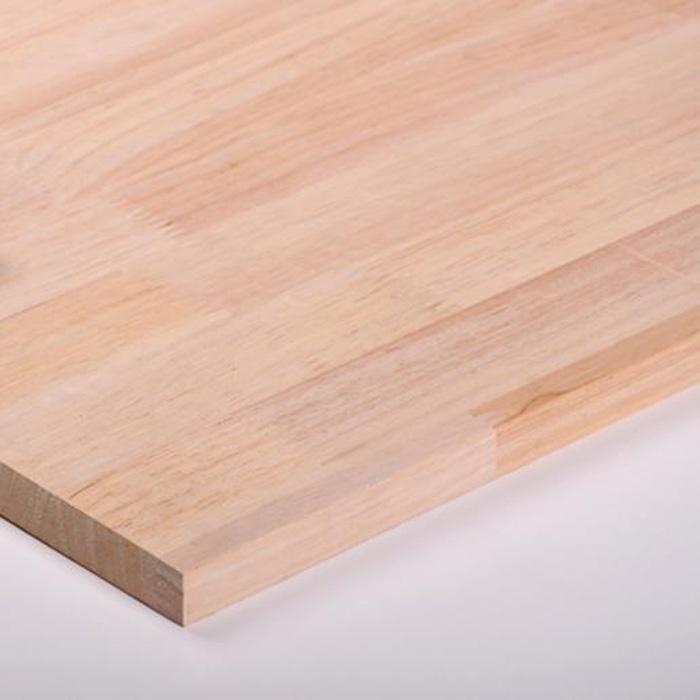 0级 进口橡胶木 指接板 集成材 实木板材25mm