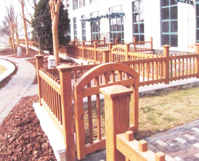 防腐木 户外围栏 yj011