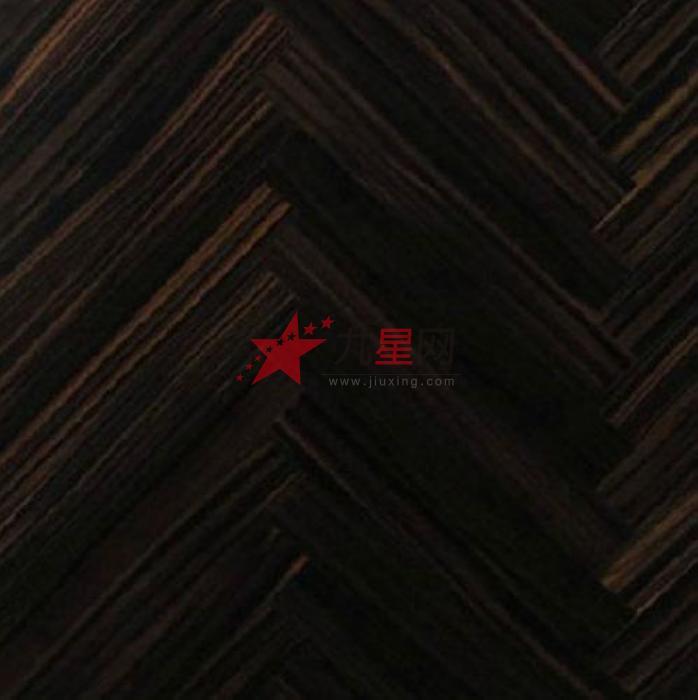 绿叶丹 多层实木地板 黑檀多层