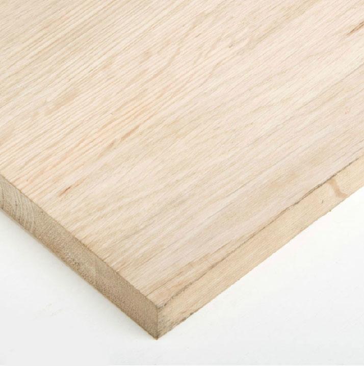 申旺 极品无甲醛柞木橡木指接板集成材集成板