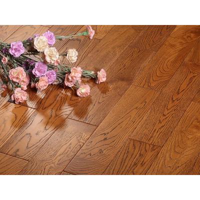 大卫地板 实木地板 格林童话拉丝栎木
