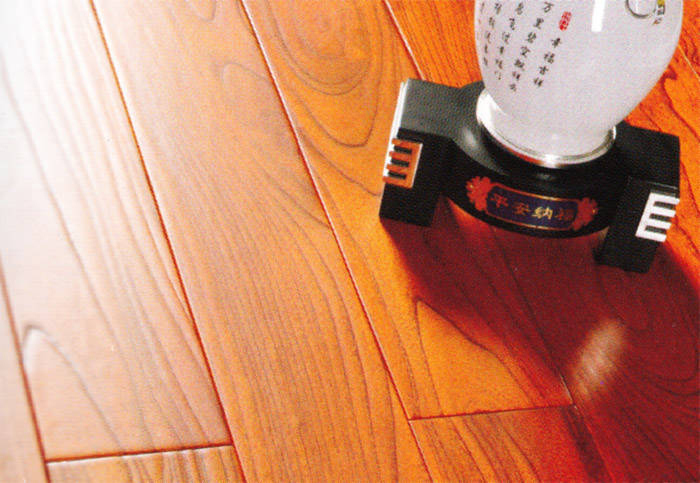 实木地板 椿木