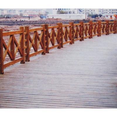 防腐木 户外围栏 yj017