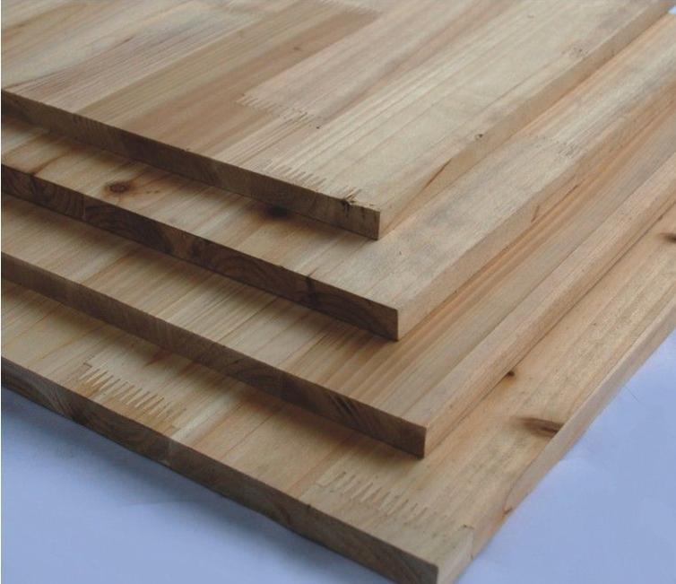 香杉木无节生态指接板,集成材12mm