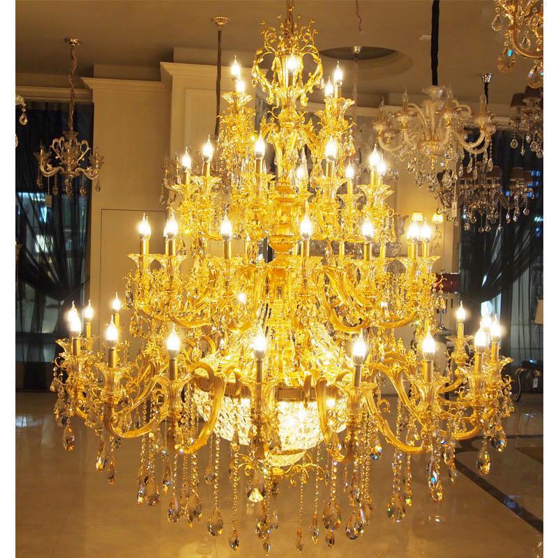 欧式豪华水晶灯