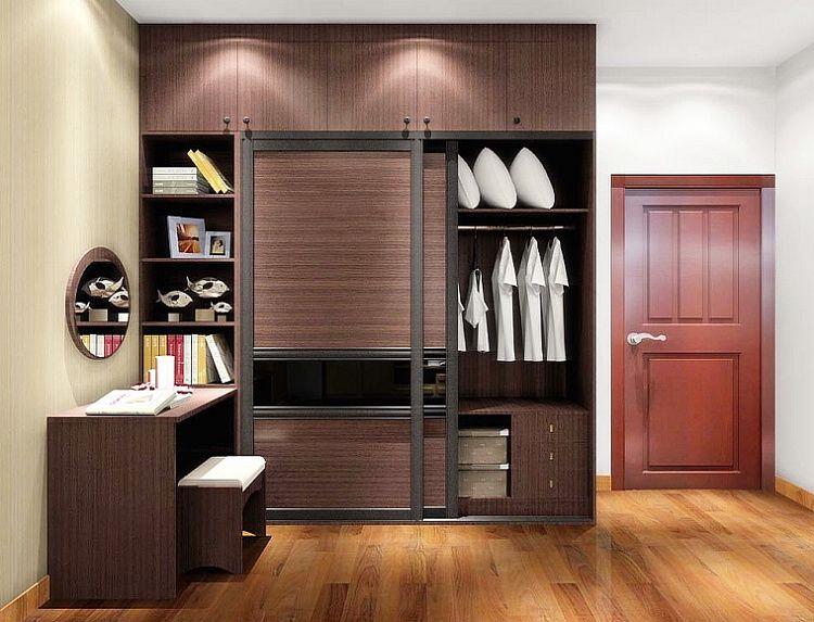 镓佳整体衣柜订制 定制整体卧室家具 衣柜组合梳妆台设计