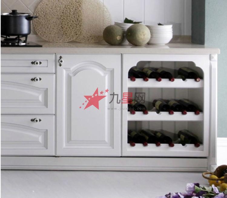 欧式田园厨房整体橱柜定做