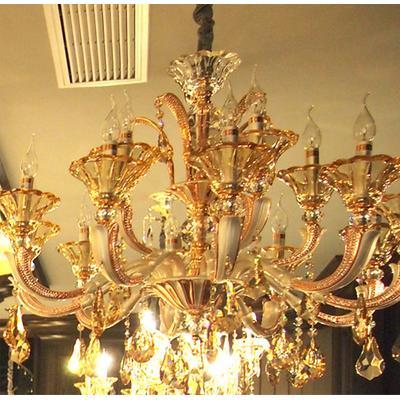 欧普照明 水晶吊灯 蜡烛灯 客厅灯