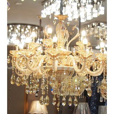 欧普照明 蜡烛水晶灯 客厅灯图片