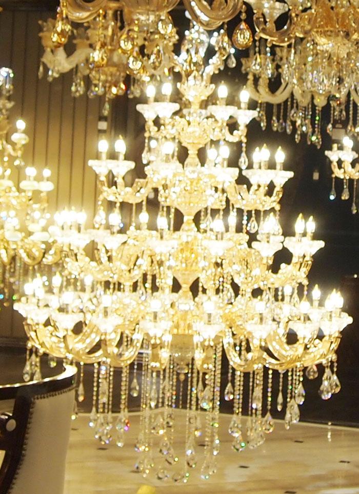 欧普照明 蜡烛水晶灯 豪华水晶灯 客厅灯 水晶吊灯