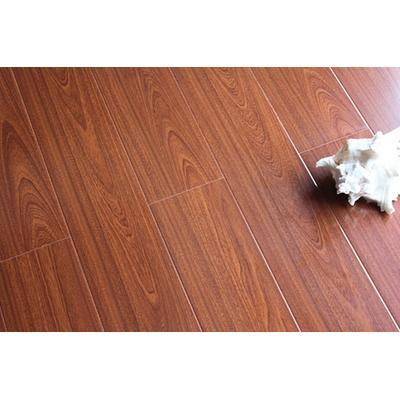 复合地板梦幻水晶系列v8015柚木王超亮面地板【鸿翔】