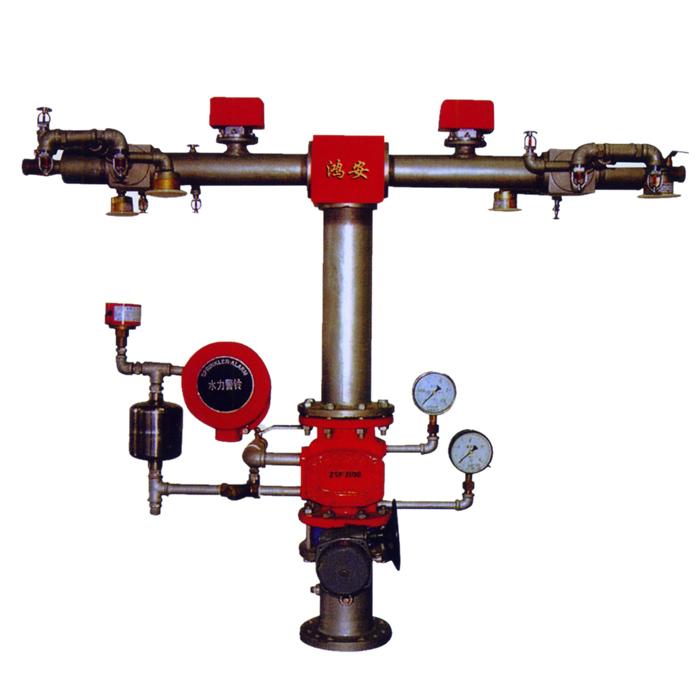罗胜 鸿安 消防设备 湿式报警器 zsfz100