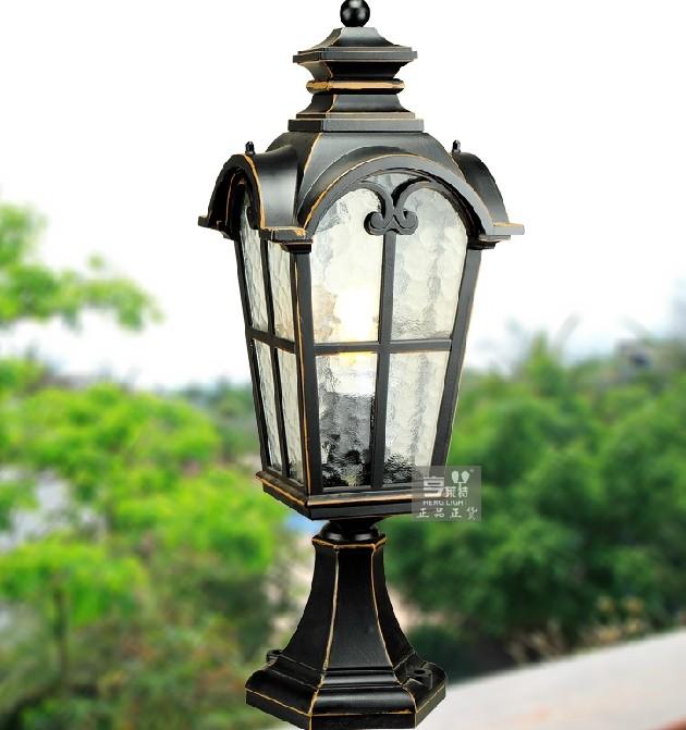 亨莱特欧式户外墙头阳台大门花园庭院露台围墙柱灯立