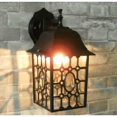 欧式阳台灯现代庭院灯户外灯田园简约壁灯露台玄关灯