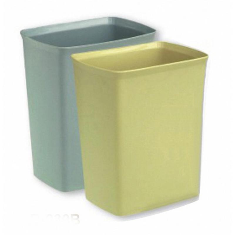阻燃方形花纹垃圾桶