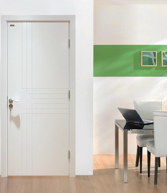 欧式简约开放定制室内门实木烤漆门白色卧室门复合门
