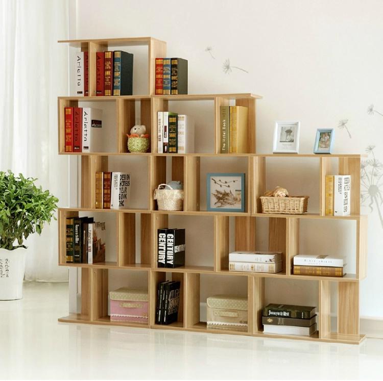 书柜书架组合简易陈列柜隔断柜儿童书柜创意古董架【华派】