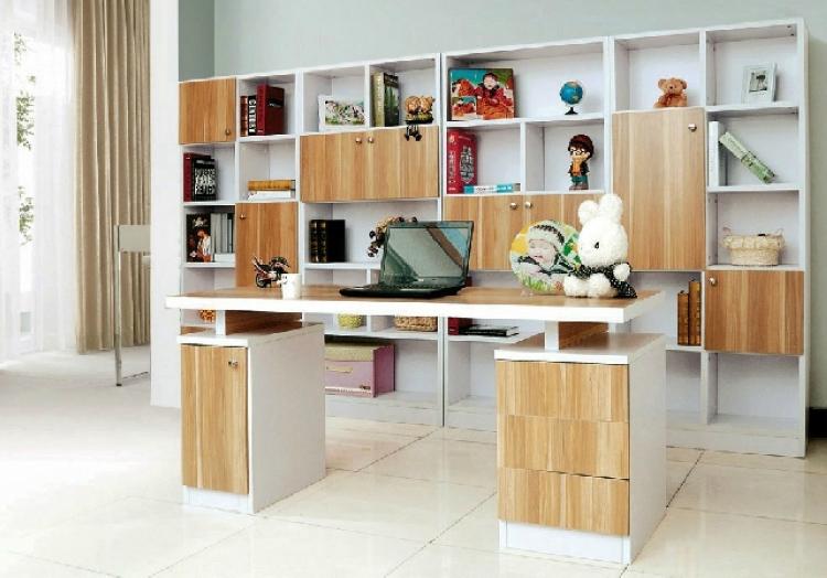 衣柜带书桌设计图纸展示