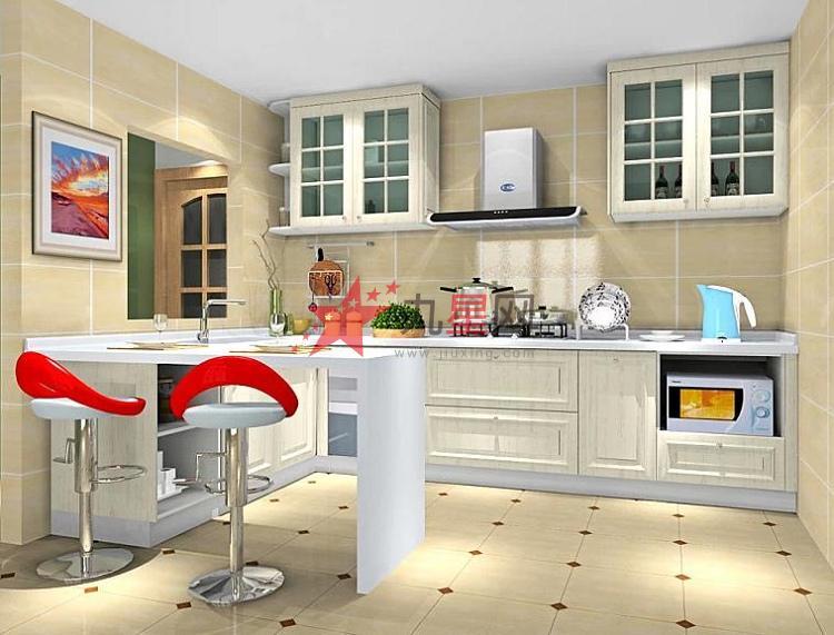 产品名称:定制古典风格时尚吧台整体橱柜 颜色分类: 各种颜色可选 台面材质: 石英石、人造石、不锈钢等可选择 柜体材质: 防潮板 门板材质: 模压门板 厨柜形状: L形、U型、一字型等 厨柜风格: 古典/现代 【橱柜的分类】 字形橱柜 L形橱柜 U 形橱柜 橱柜的构造 有地柜、吊柜、高柜三大类,其功能包 括洗涤、料理、烹饪、存贮四种。 橱柜一般由台面、门 板、柜体、厨电、五金配件构成。 【门板材质】 实木型 吸塑型 三聚 氰胺饰面板型 模压型 金属质感型 烤漆型 防火板 包复框型 水晶型 镜面树脂板 防水