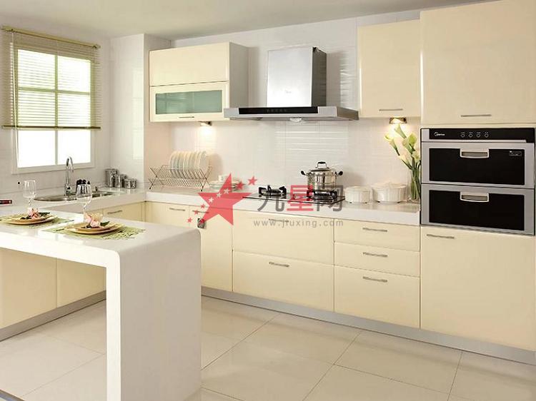 厨柜形状: l形,u型,一字型等 厨柜风格: 欧式