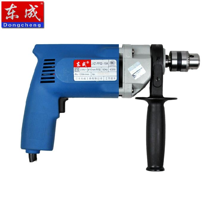 东成手电钻 j1z-ff02-10a 手枪钻 铝合金机身