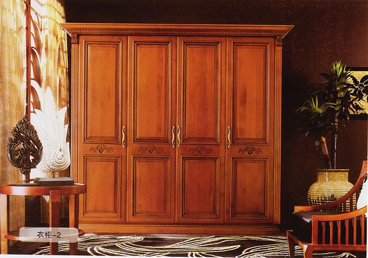 歐式實木定制衣柜_歐式實木定制衣柜分享展示