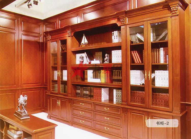 欧式奢华家具 书柜 法式实木书柜