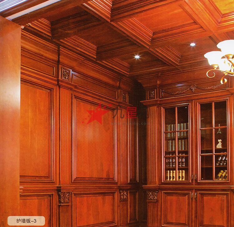 欧式别墅用实木门 木饰面
