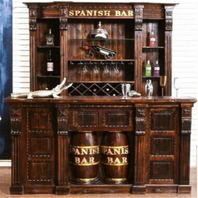 家庭酒柜吧台格局设计图展示