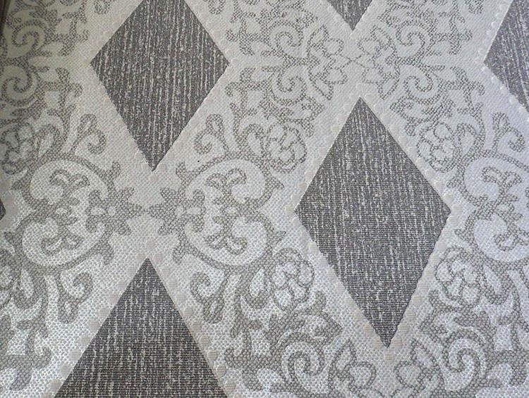 园浩装饰材料 菱格花纹墙纸 灰色