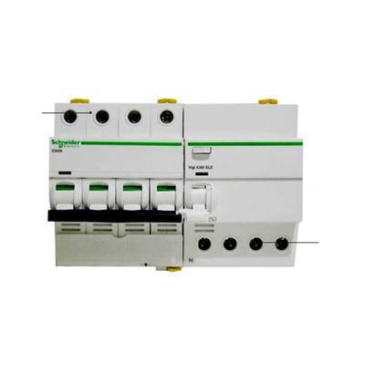 施耐德断路器 空气开关 真空空开 acti9 ic65n 4p63a带漏电保护