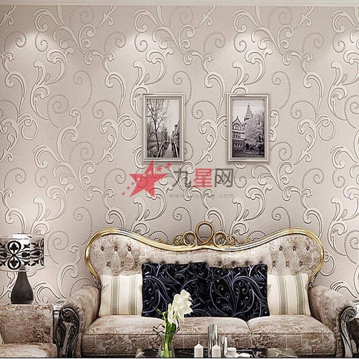 欧式3d壁纸 客厅立体背景墙壁纸