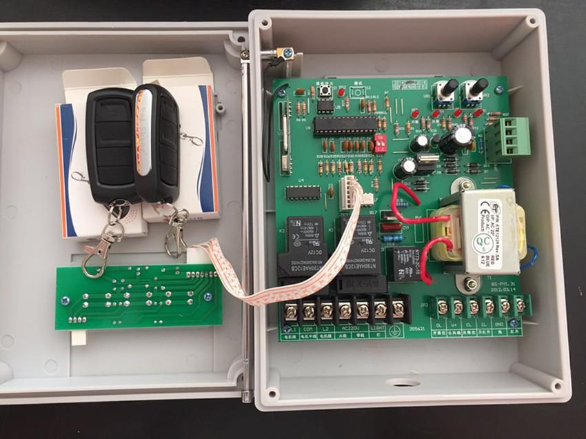 电动伸缩门控制板 电路板电动门控制器 遥控器 百胜控制器 遥控器