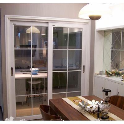 客厅隔断推拉门阳台钛镁合金厨房书房卫生间移门钢化