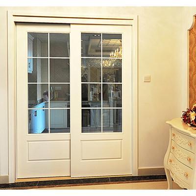 玻璃推拉门卫生间门实木烤漆门双滑门厨房移门室内门