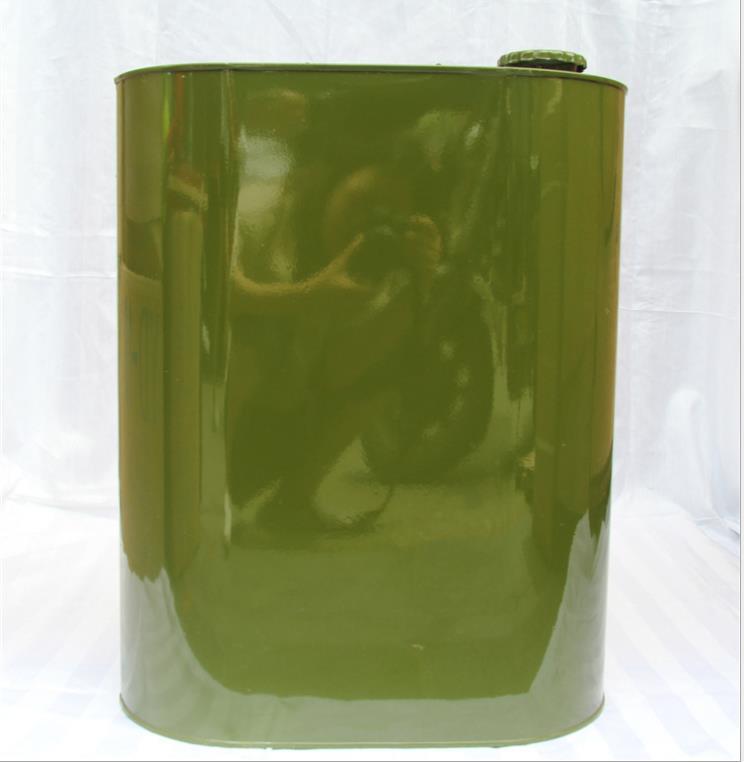 汽油柴油桶汽车25升 备用军绿色铁皮油桶