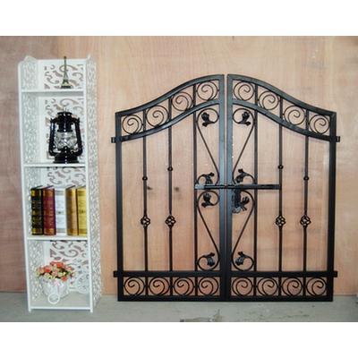 创意欧式铁艺双开大门别墅大门户外铁门庭院花园门门